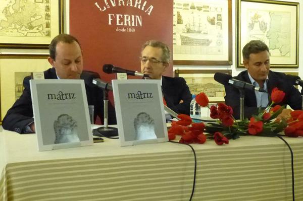 """Presentación del libro """"Matriz"""" Ferin"""