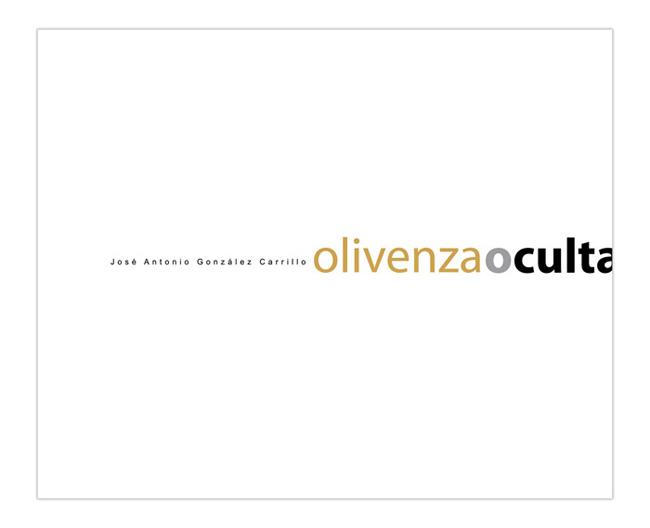 Olivenza Oculta libro Antonio González Carrillo