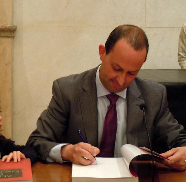 Firma libros almas da magdalena